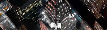 decoarchitecture: Chrysler Building, NYC, NY Top-down view of the Chrysler.