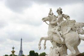 Pont Alexandre III. Paris.