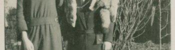 FOUND PHOTO: Two ladies, 1920s