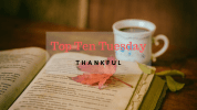 Top Ten Tuesday: Thankful