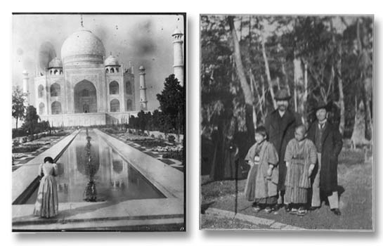 Two of the actual photos found in the trunk. See more.