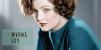 MYRNA LOY: Summer Under the Stars