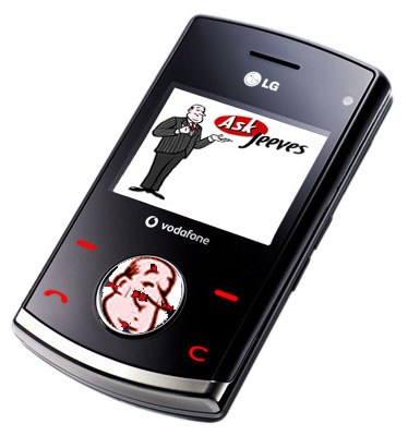 The Ask Jeeves phone is due to arrive in 2015.