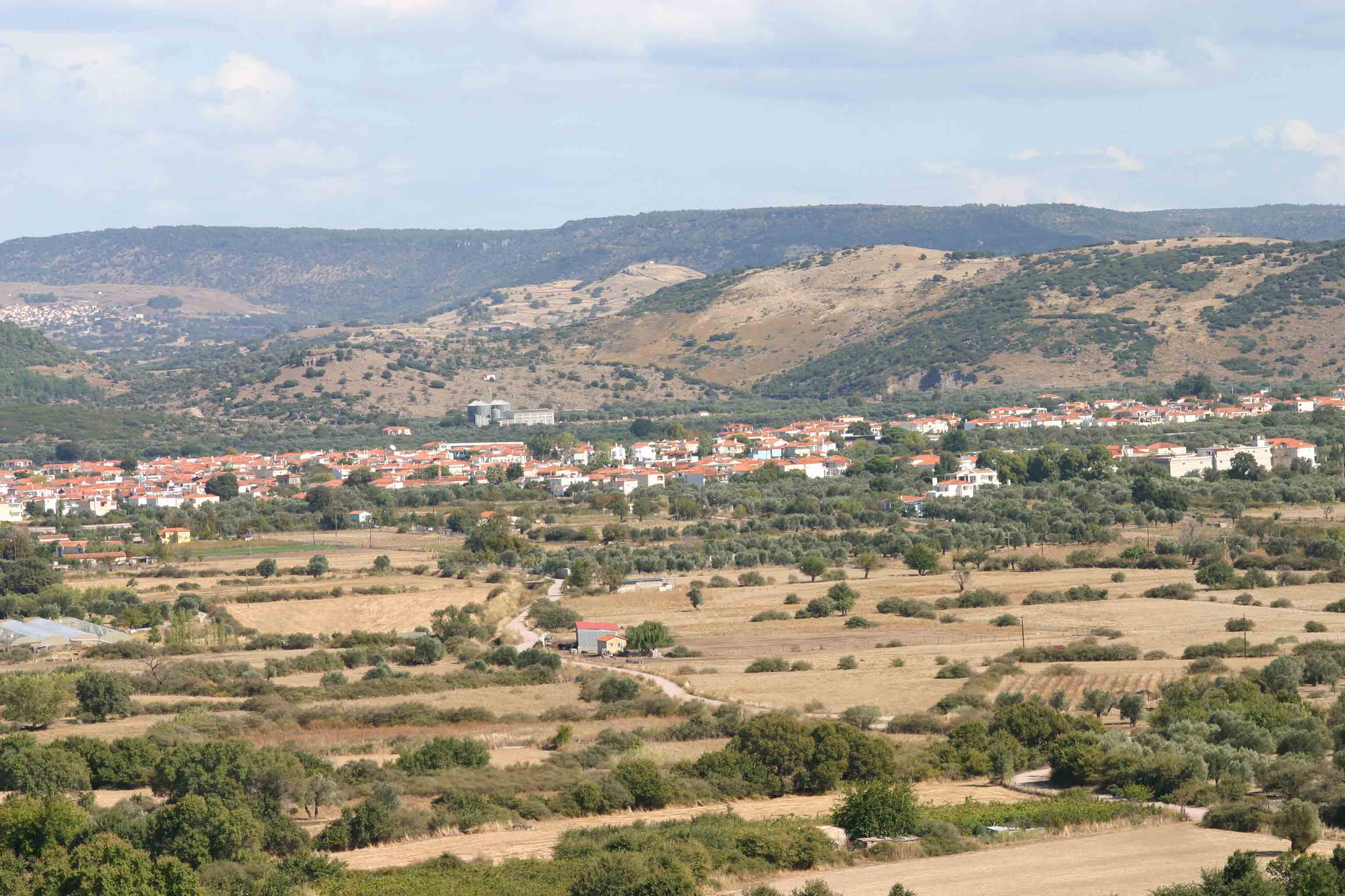 View of Kalloni village from the Potamia valley