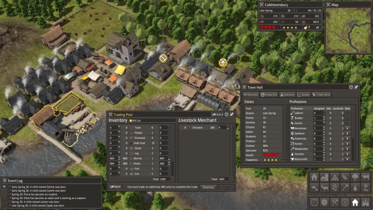 Banished Gameplay
