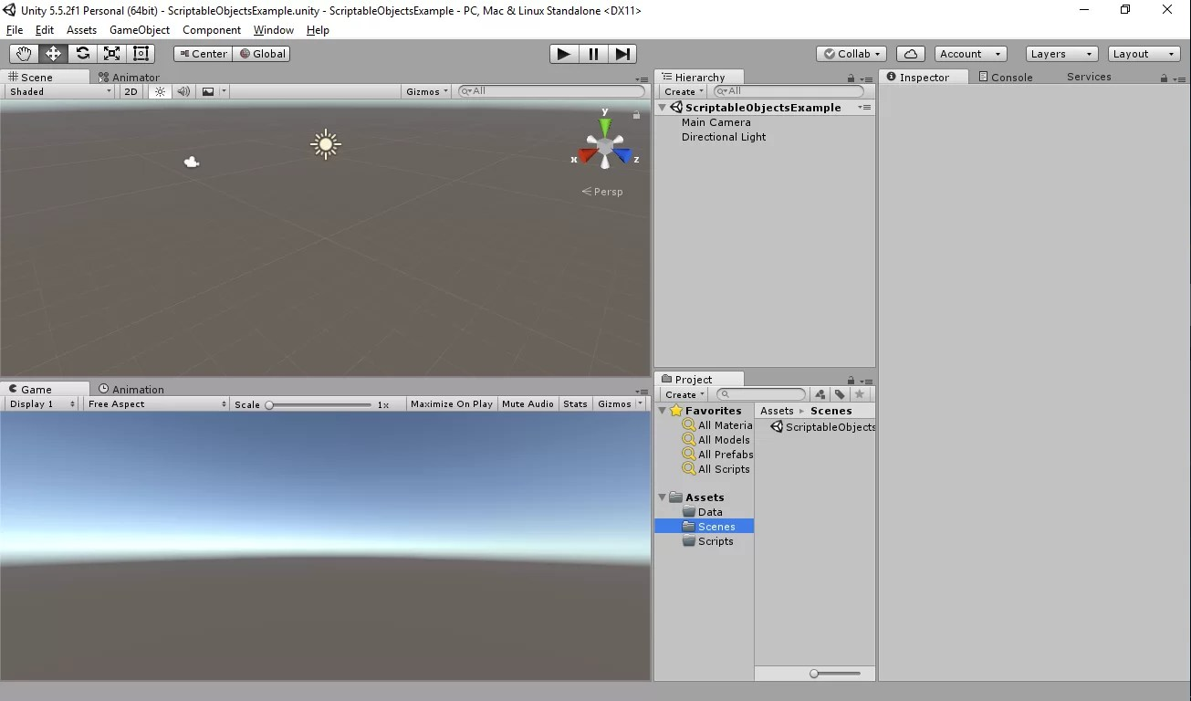 Unity QuickTip #52 1 - Scriptable Objects | mWin