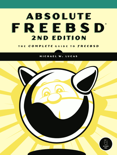 Absolute FreeBSD, 2nd ed cover