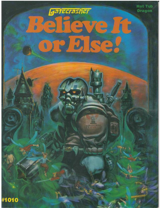 Believe it or Else! cover