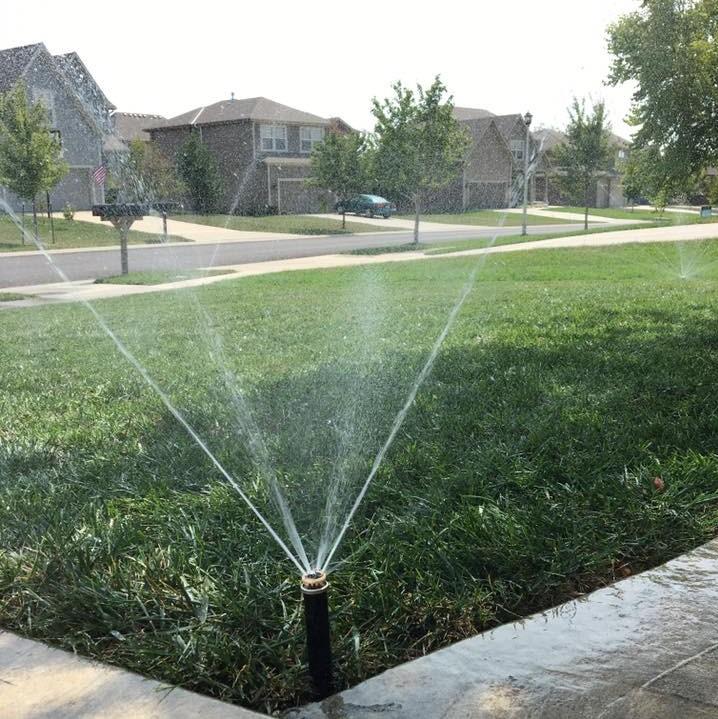 Lawn Services Irrigation Sprinkler
