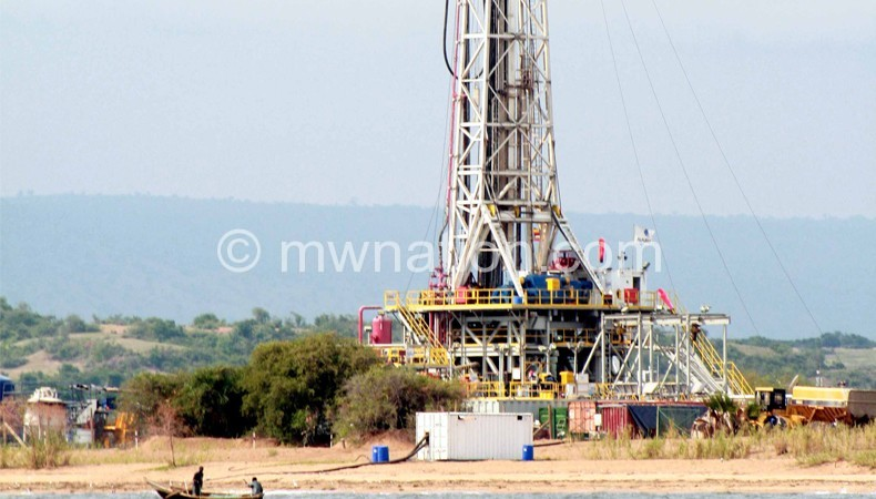 Part of the equipment oil companies use