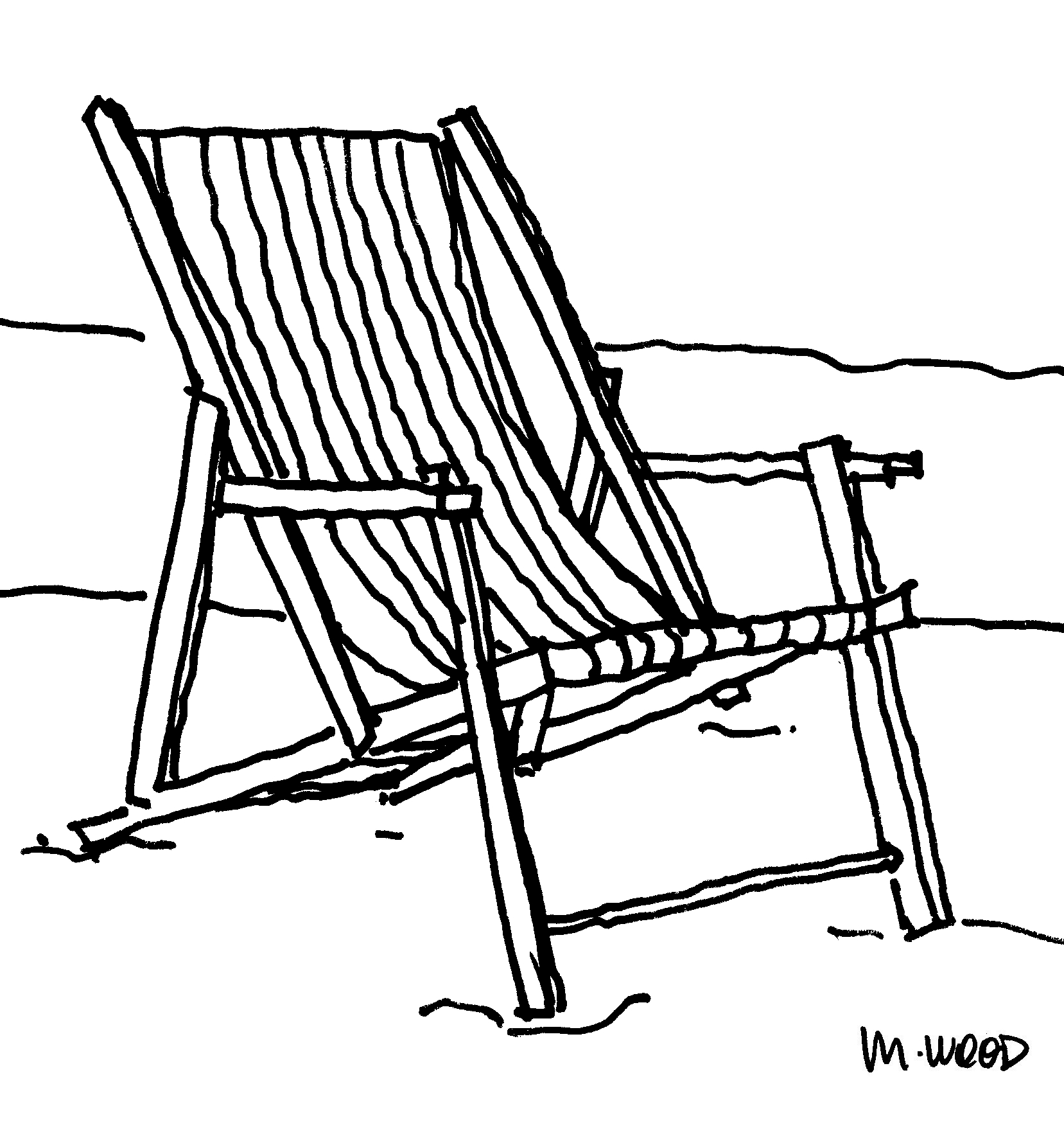Foldable Wooden Beach Chair Plans Diy Free Plans
