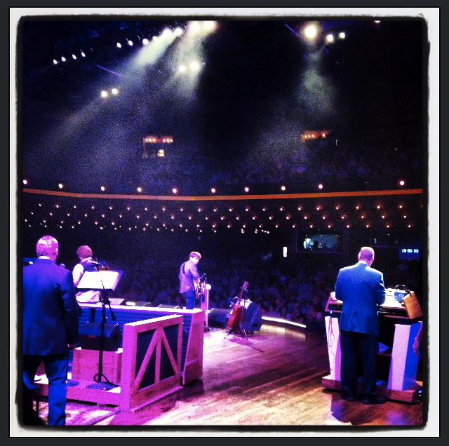 v.i.p. on the opry stage