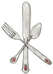 london food flatware
