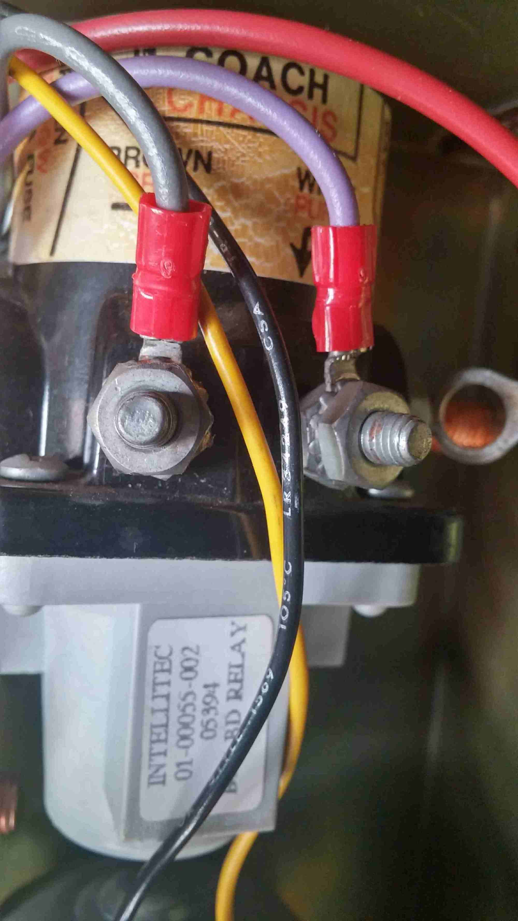 hight resolution of battery disconnect relay for the chassis