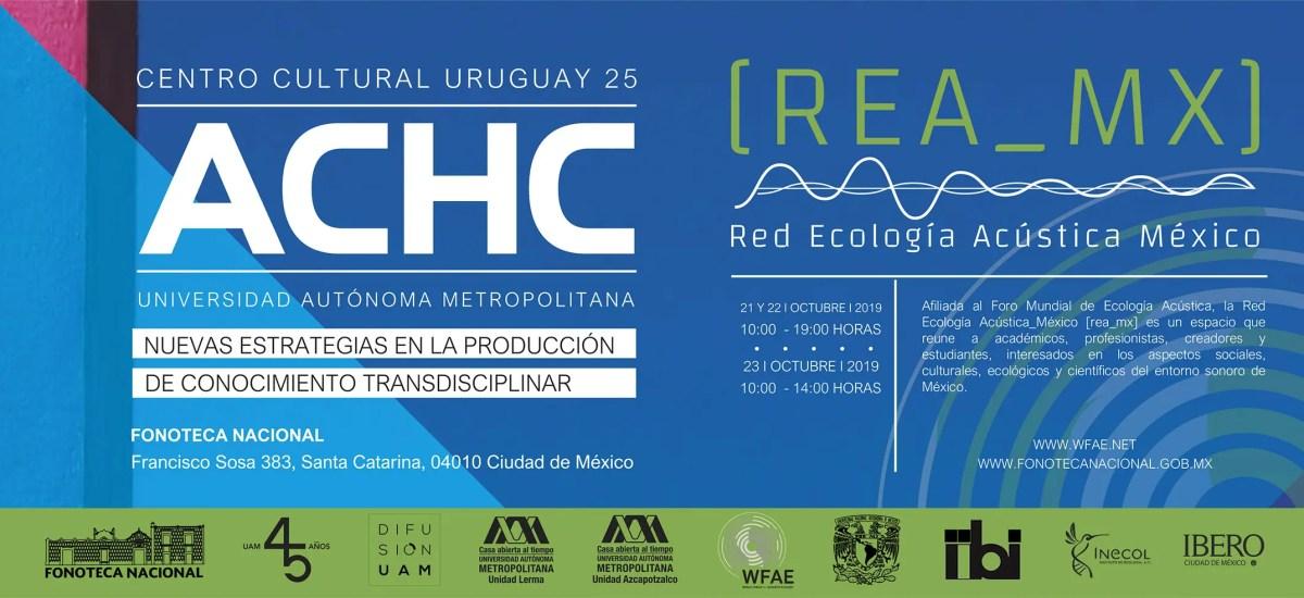 REA_Mexico | Inaugural Keynote at Fonoteca Nacional