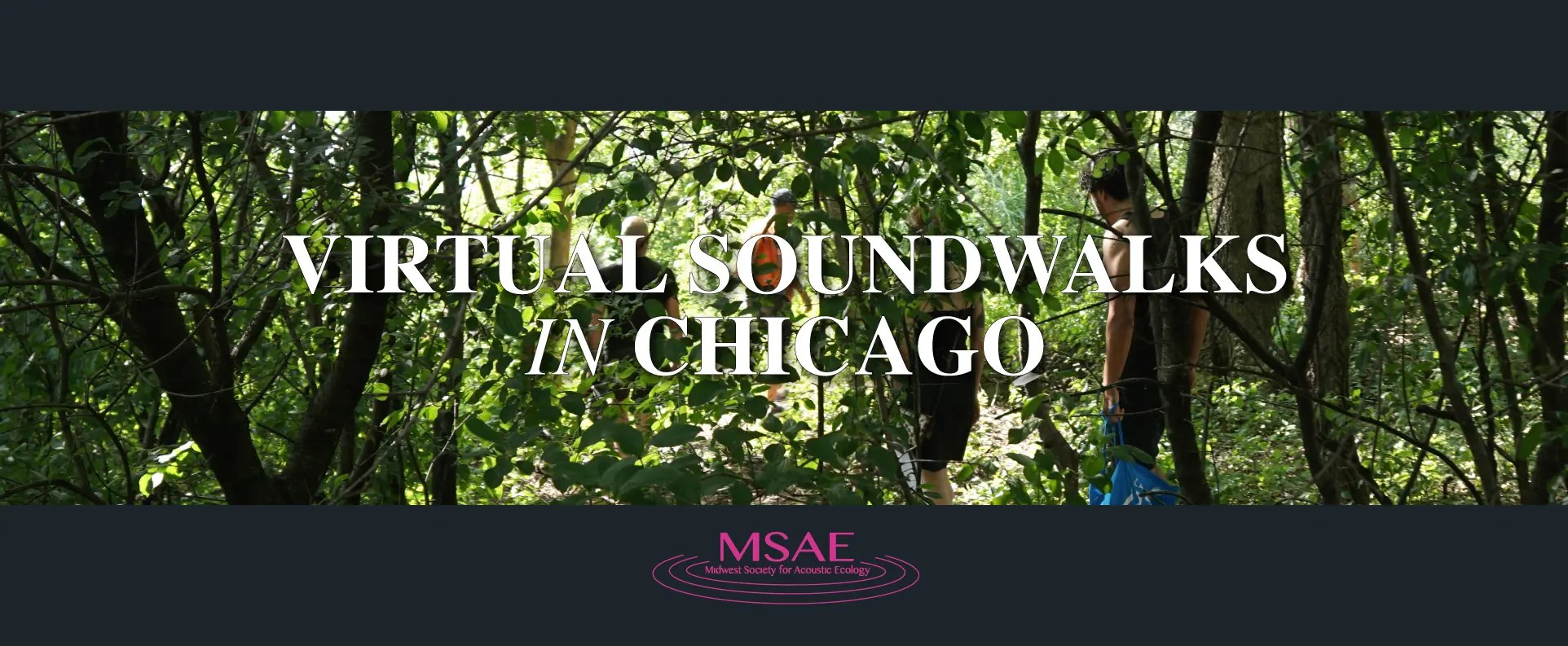 Virtual Soundwalks In Chicago Parks