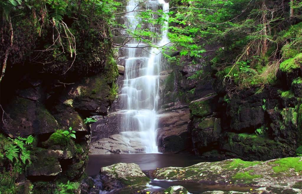 Lost Hawthorne Falls, Franconia
