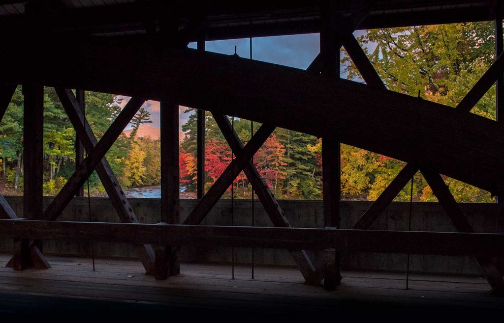 Albany covered bridge, albany, nh