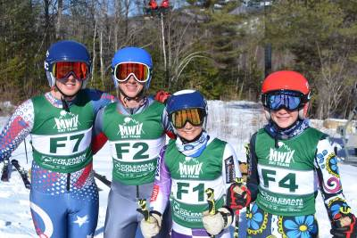 MWV Ski Team athletes