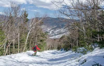 Sking the Sherburne Trail (Wiseguy Creative photo)
