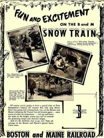 boston and maine railroad snow trains to north conway
