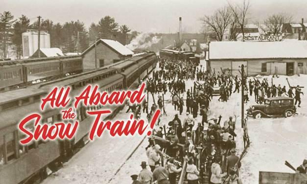 All Aboard the Snow Train!