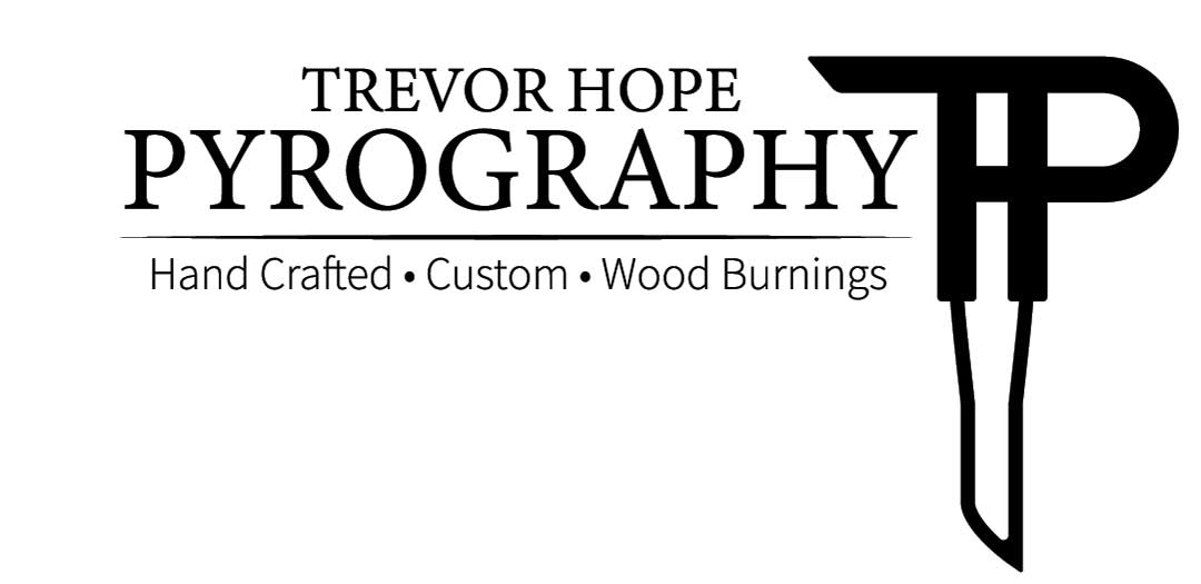 Trevor Hope Pyrography Logo