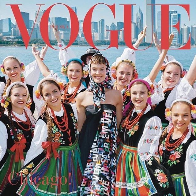 Senior Kamilia Szwedo Featured in Vogue