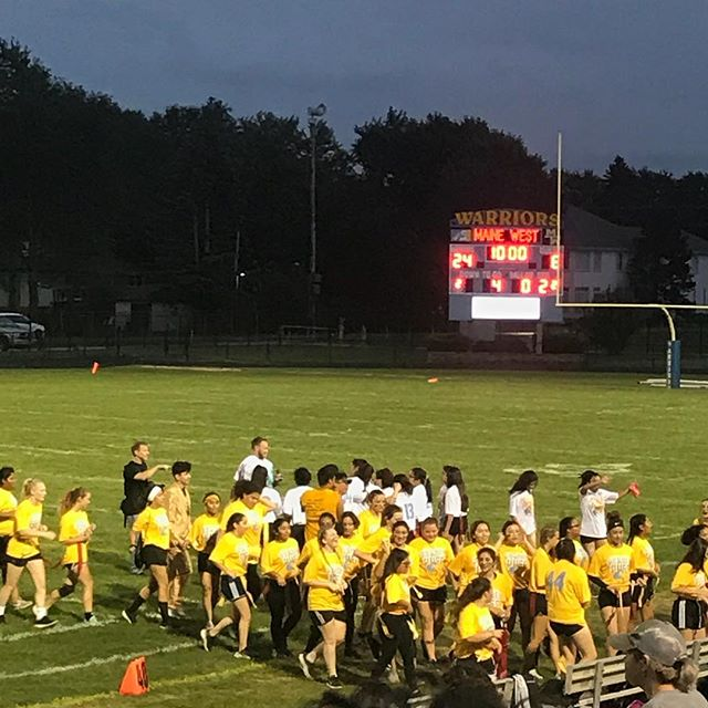 Powder Puff Win for Sophomores Against Freshman