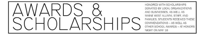 Senior Awards and Scholarships