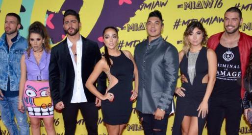 MTV MIAW 2016 – Los Ganadores y Sus Looks