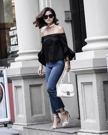 Adriana Gastélum bloguera de Fake Leather luciendo lentes Celine   LentesWorld