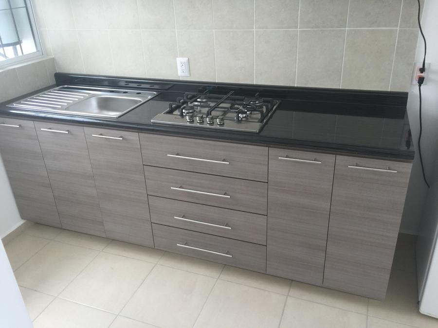 Foto Cocina Integral Melamina de Aluminio Express 182879