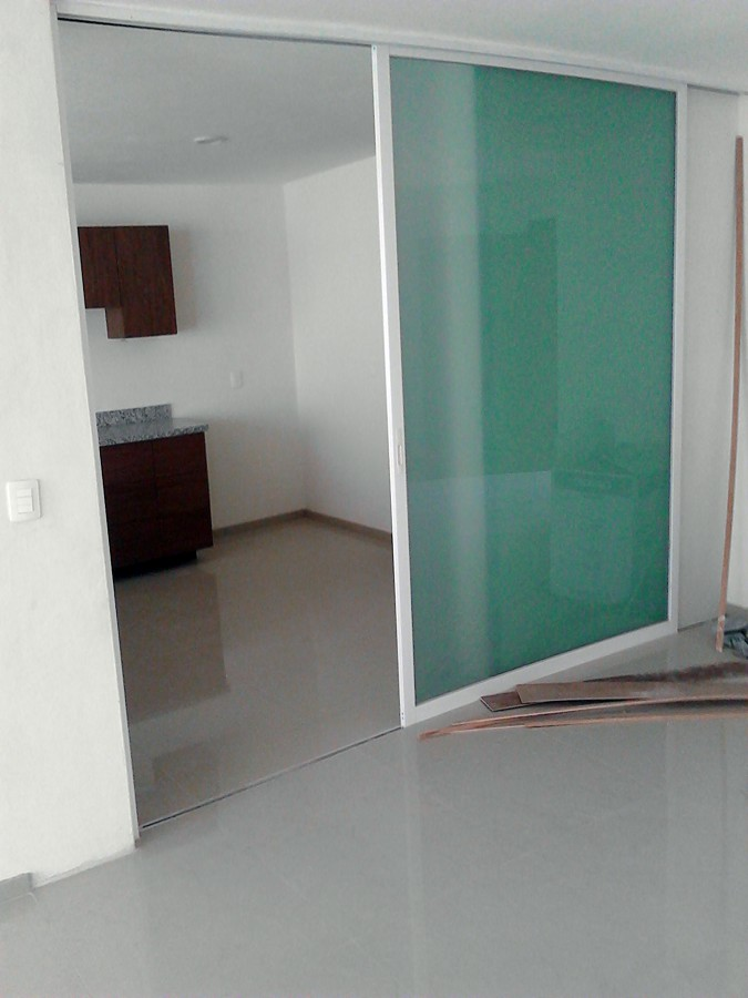 Foto Puerta Corrediza de Vidrio Y Aluminio Dom 32746