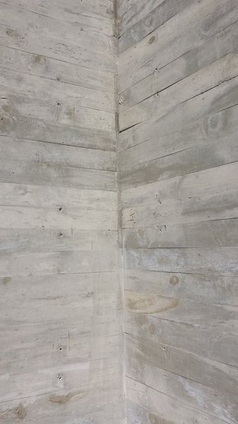 Foto Detalle de Muro Aparente de Concreto de C05 Estudio