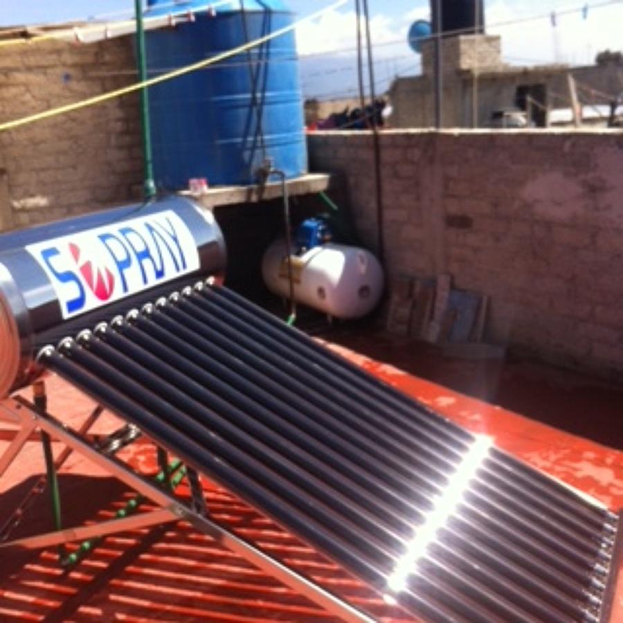 Calentador Solar Colonia el Tejolote  Ideas Energas