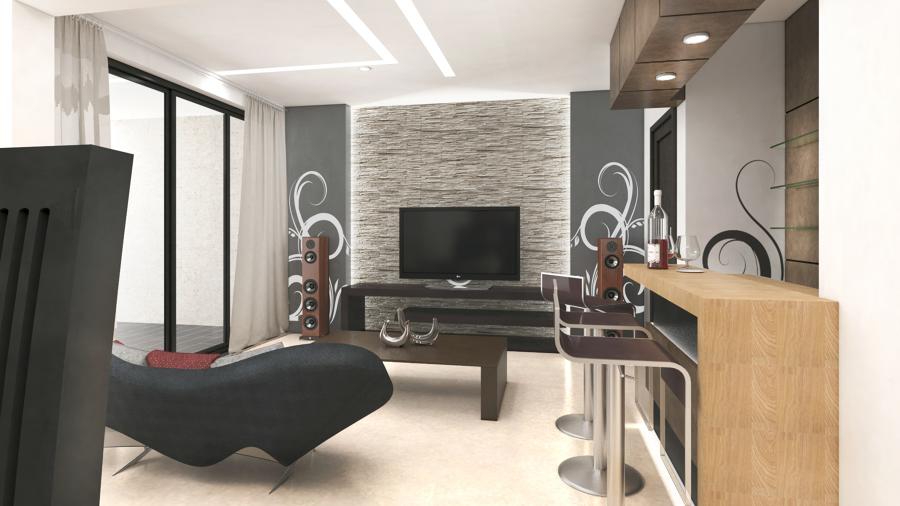 Diseo de Interior Sala Comedor  Ideas Diseo de Interiores