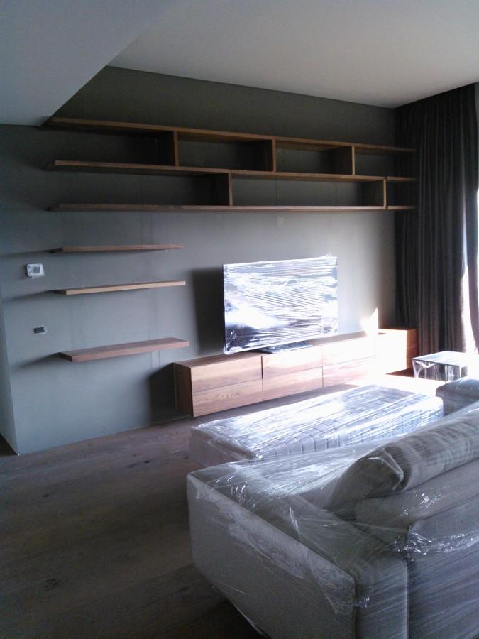 Foto Mueble Tv Nogal Recamara de Muebles Sobre Diseo