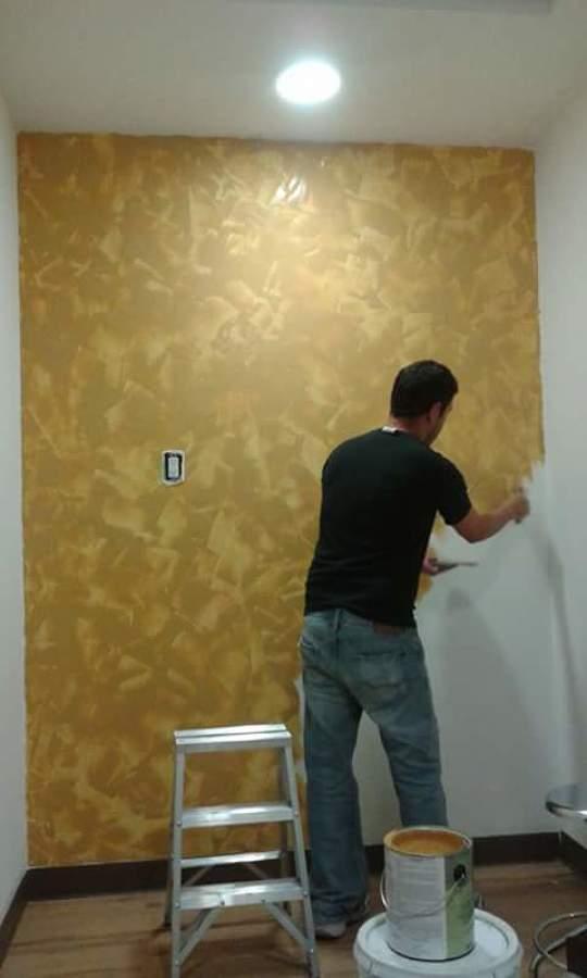 Acabado de Pintura y Pasta en Muro o Pared en Consultorio