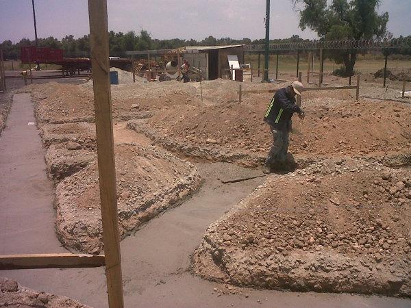 Foto 4Plantilla de Cimentacin a Base de Concreto Pobre