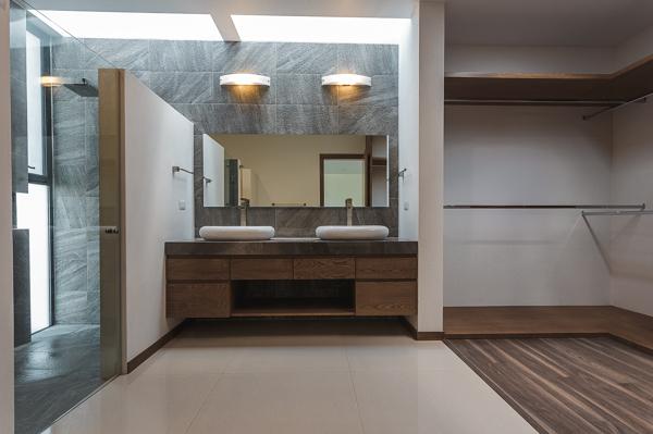 Foto Bao Vestidor Recmara Principal de 2m Arquitectura