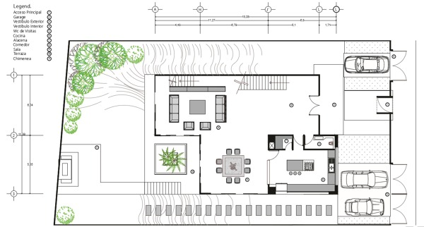Foto Plano Arquitectnico Casa Alpes de Rrj3