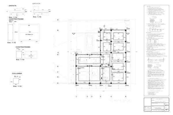 Foto Plano Estructural de Argytecture 56669  Habitissimo