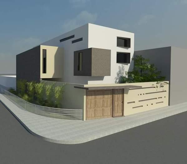 Foto Render Casa Habitacion Residencial de Diseo Remodelacion Y Construccio Pyo 145545  Habitissimo