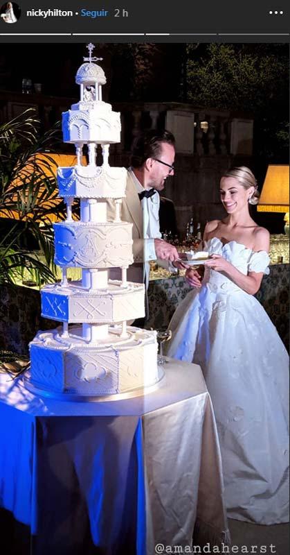 Amanda Hearst ex de Luis de Medina se casa con Joachim
