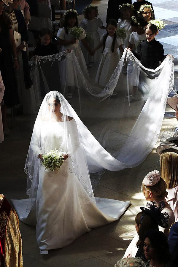 Boda Prncipe Harry y Meghan Markle El espectacular vestido de novia