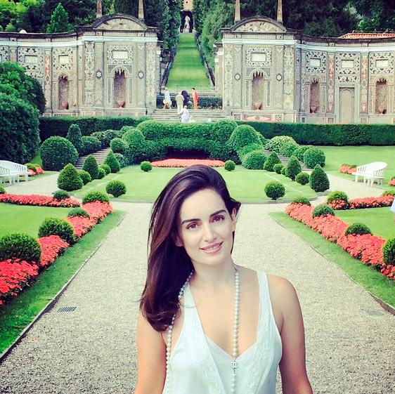 Ana de la Reguera amor sol comida y vacaciones en Italia