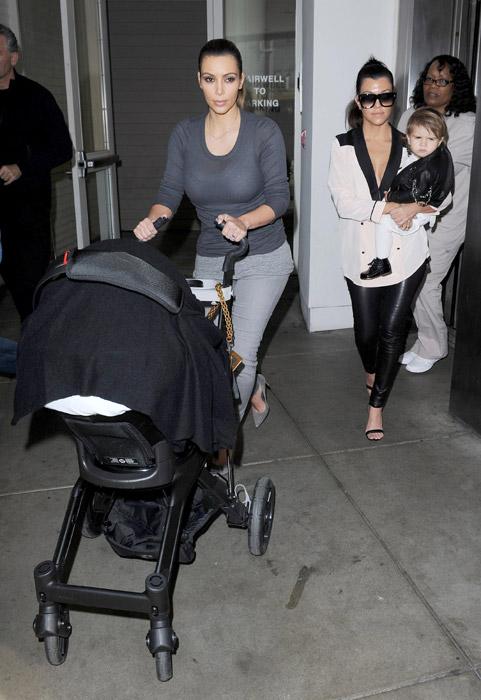 Las pequeas de Kim y Kourtney Kardashian ya son las mejores amigas