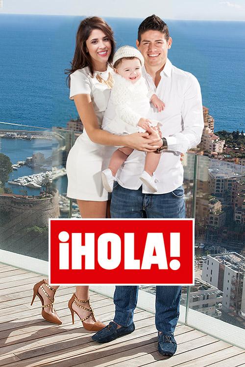 En HOLA James Rodrguez el mximo goleador del Mundial y su familia nos reciben en su casa