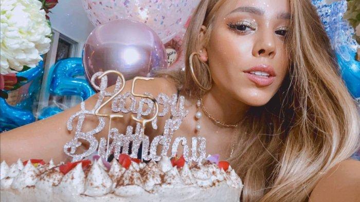 Danna Paola celebra su cumpleaños 25